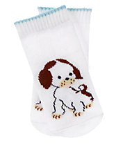 The Poky Little Puppy Socks