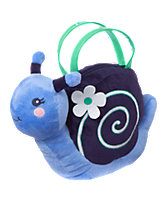 Snail Plush Purse
