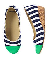Striped Espadrille