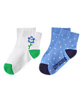 Flower & Dot Socks 2-Pack