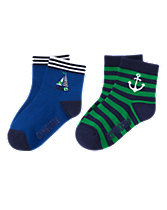 Boat & Anchor Socks Two-Pack