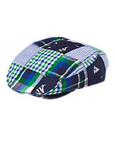 Plaid Patch Cap