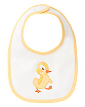 The Fuzzy Duckling Reversible Bib
