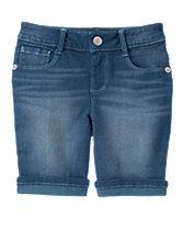 Cuffed Bermuda Shorts