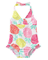 1-Piece Halter Swimsuit