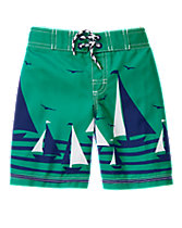Sailboat Board Shorts