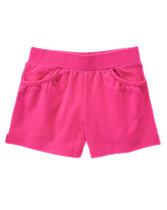 Shirred Pocket Shorts