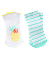 Pineapple & Striped Socks