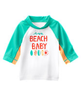 Beach Baby Rash Guard