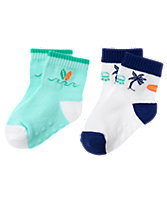 Tropical Socks 2-Pack