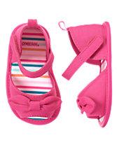 Bow Crib Sandals