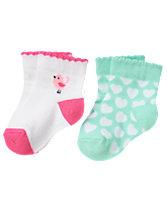 Birds & Hearts Socks