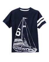 Sailboat Sketch Tee
