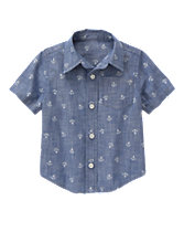 Chambray Anchor Shirt