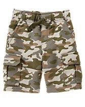 Terry Cargo Shorts