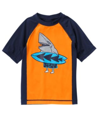 rashguard that is surf inspired for boys