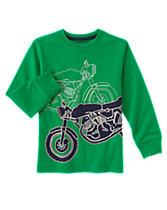 Moto Long Sleeve Tee