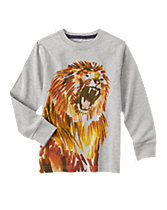 Lion Long Sleeve Tee