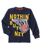 Net Long Sleeve Tee