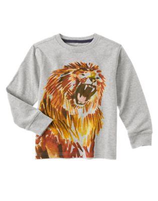 Lion Long Sleeve Tee