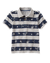 Island Stripe Polo