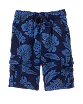 Knit Cargo Shorts