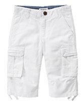 Linen Cargo Shorts