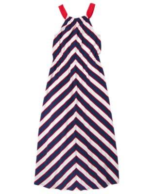 Mom Striped Dress