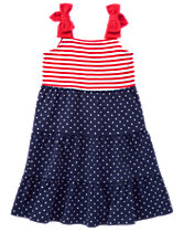 Stars & Stripes Maxi Dress