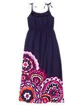 Medallion Maxi Dress