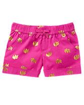 Elephant Print Shorts