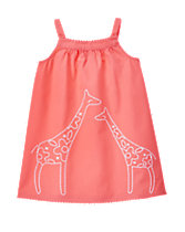 Giraffe Shift Dress