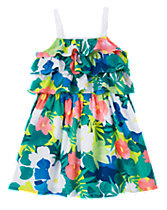 Tropical Tier Dress