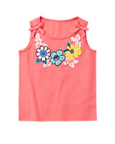 Flower Necklace Tank