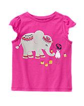 Elephant Girl Tee
