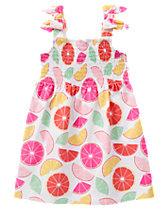 Citrus Print Dress