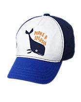 Whale Splash Cap