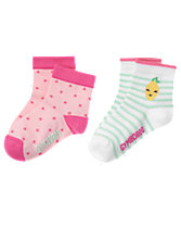 Dots & Lemon Socks 2-Pack