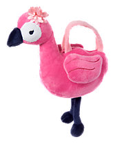 Flamingo Plush Purse
