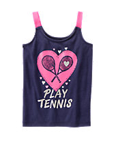 gymgo™ Play Tennis Tank