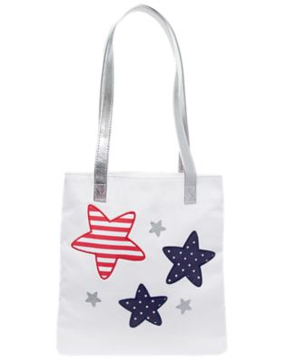 Glitter Star Tote Bag