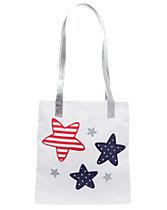 Glitter Star Tote Bag