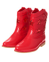 Glitter Star Cowgirl Boots