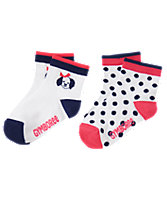 Pup & Dot Socks 2-Pack
