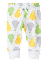 Pear Print Pants