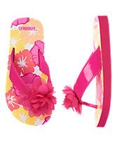 Rosette Flip Flops