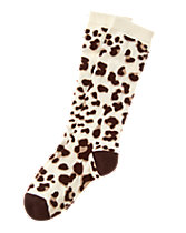 Leopard Knee Socks