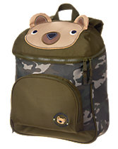 Camo Bear Backpack