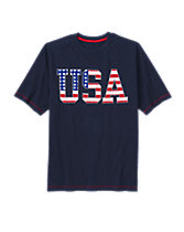 Dad USA Flag Tee