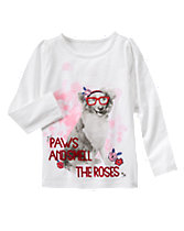 Paws & Roses Tee